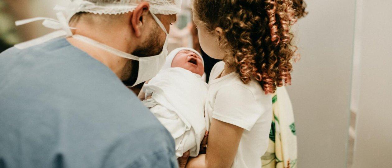Prvo upoznavanje s bebom