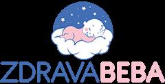 Zdrava beba logo - beba spava